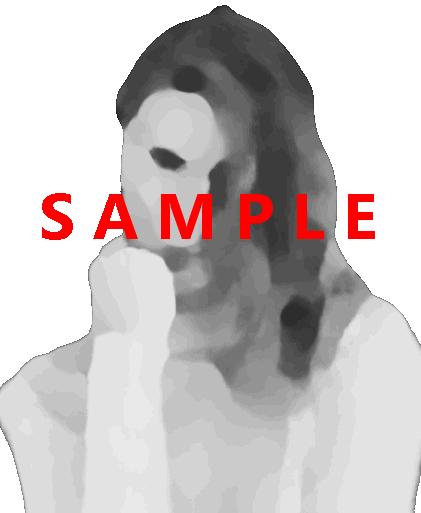 Woman, transparent background