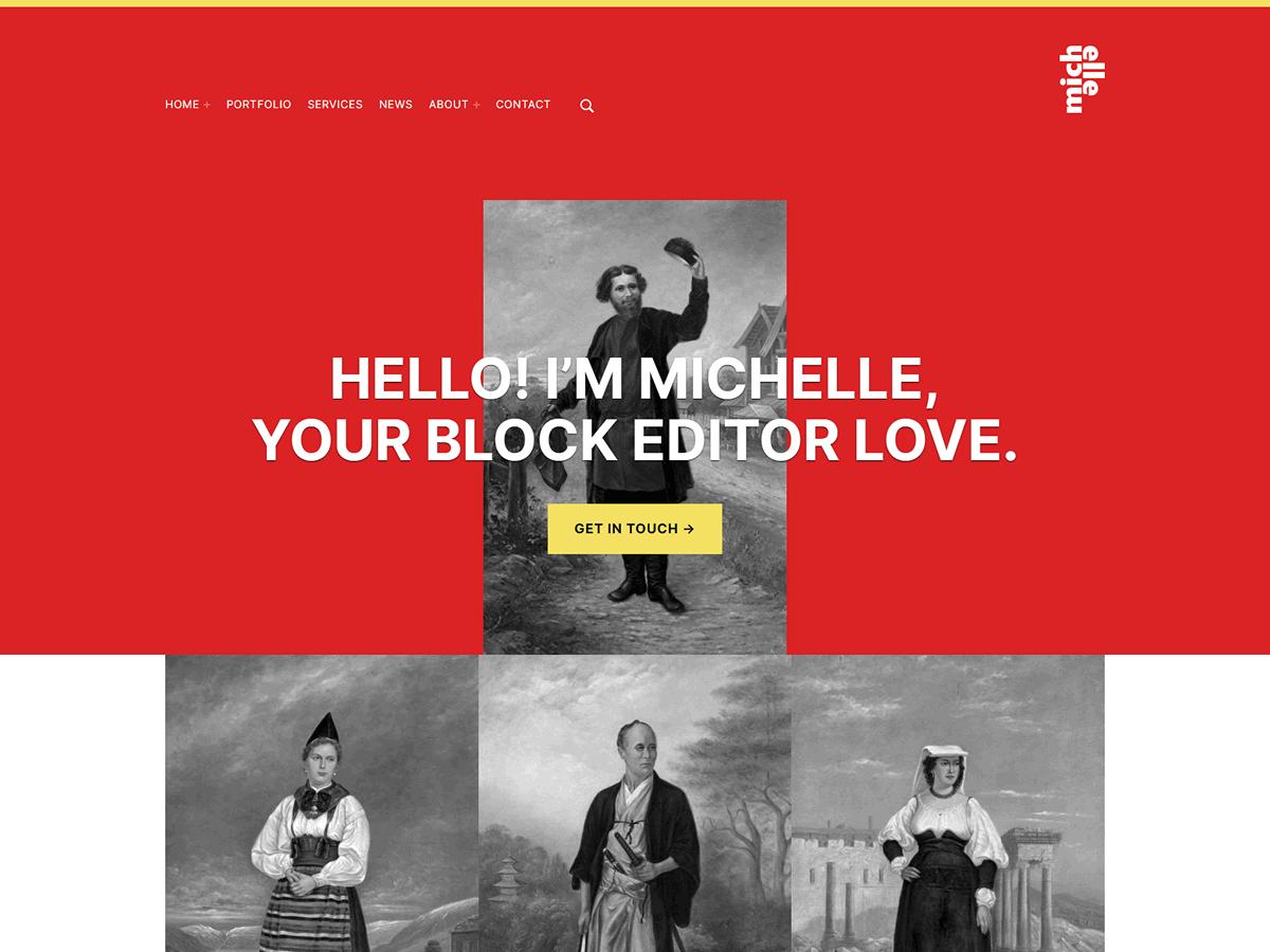 Michelle Theme Demo Website
